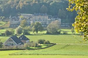 Voormalige hoeve Castermans en het Chateau Neercanne