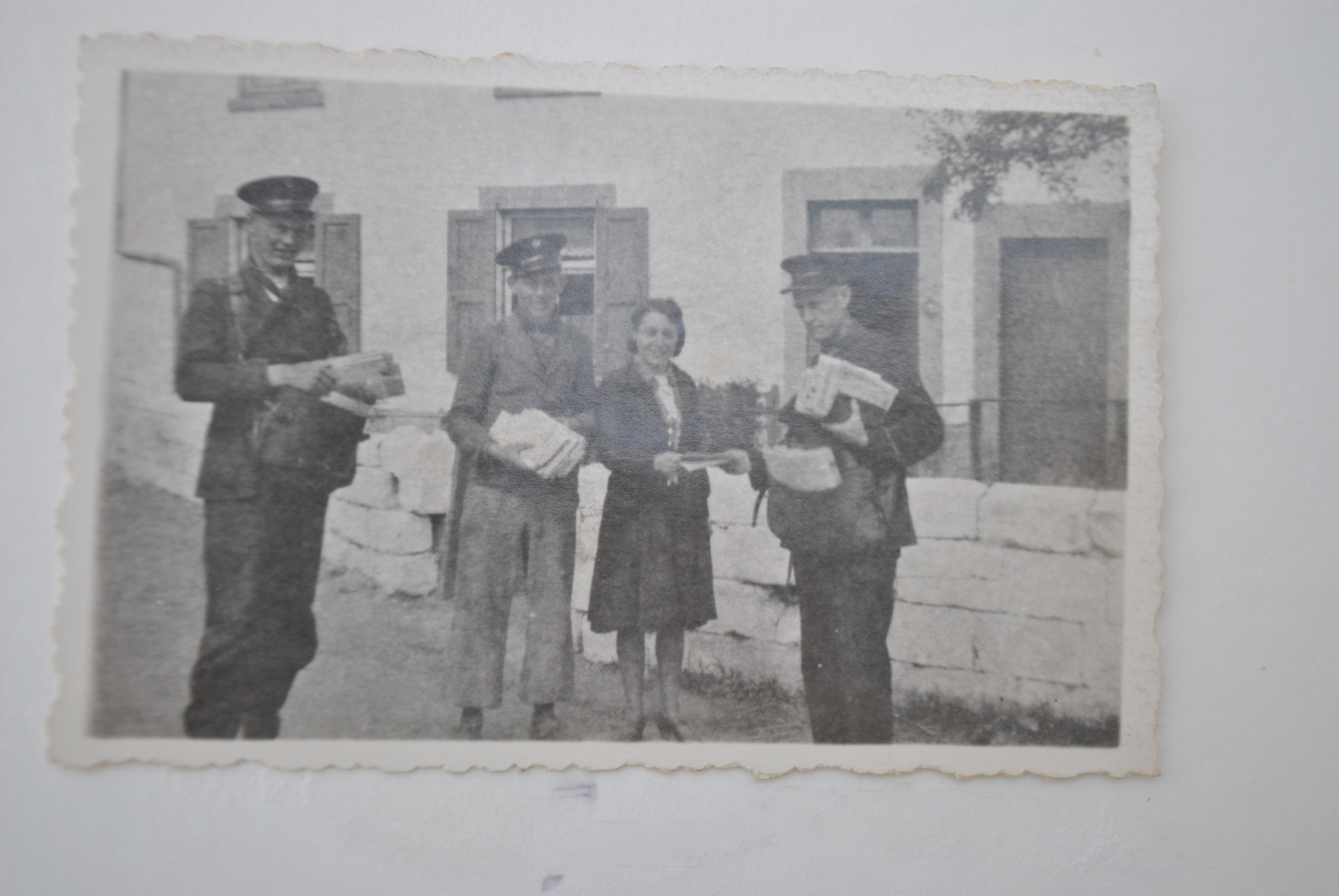 De Kannerse postbodes, kort na de oorlog