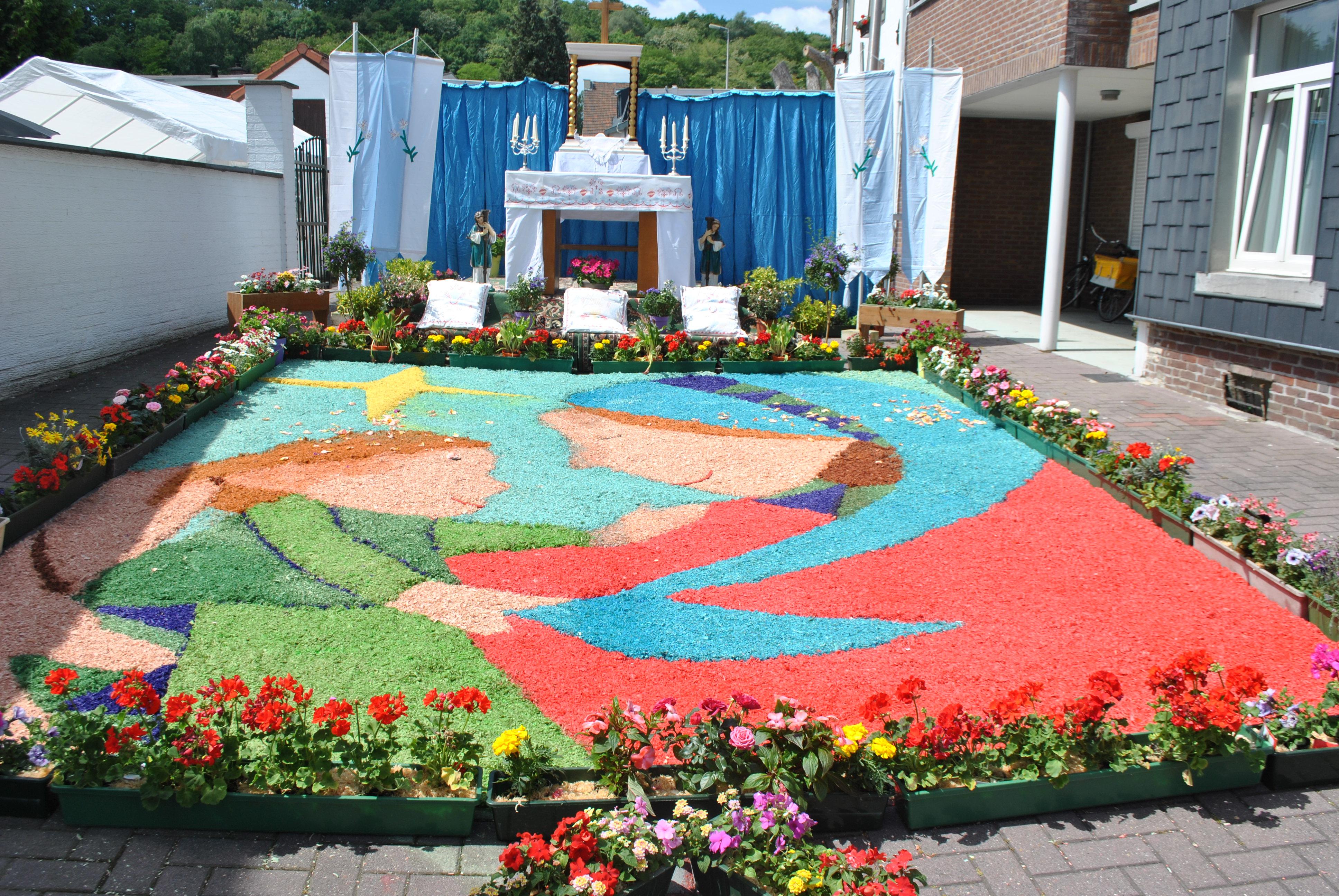 Sacramentsprocessie 7 juni 2015