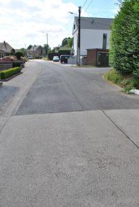 Overgang beton-asfalt Avergat