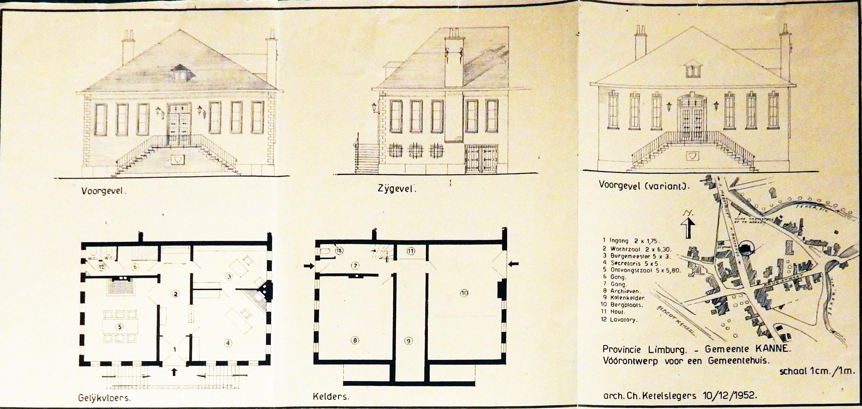 Een nieuw gemeentehuis voor de gemeente Kanne.