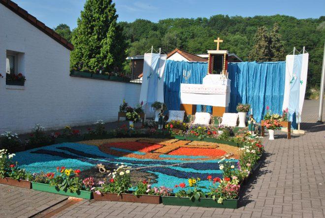 Het resultaat van het werk van de kapelvereniging van de Oudeweg