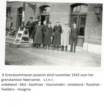 """Nederlandse """"kommiezen"""" aan de grens """"Neder-Canne"""""""