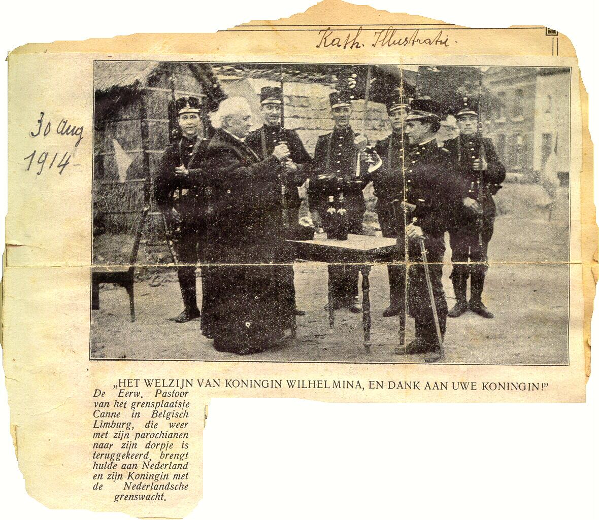 Nieuws over Kannerse soldaten in Eerste Wereldoorlog
